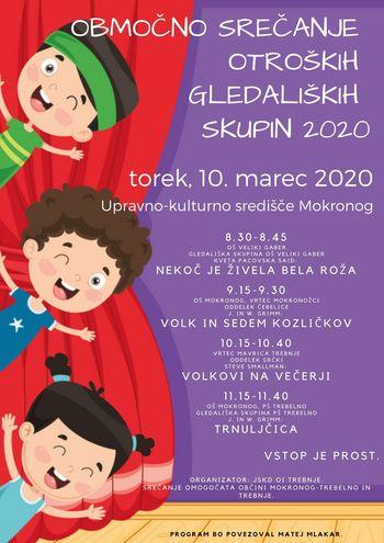 Območno srečanje otroških gledaliških skupin 2020