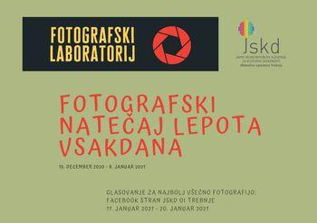 Najbolj všečna fotografija je Nebeška klopca Janija Vimpolška