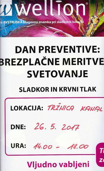 Dan preventive - brezplačne meritve in svetovanje