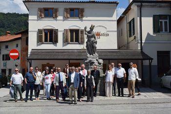 Z obiskom so nas počastili vodje diplomatskih predstavništev in konzulatov v Republiki Sloveniji