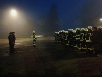 Vaja gašenje požara v podjetju Fenolit