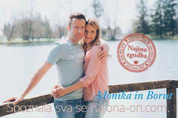 """Zmagovalca natečaja Najina zgodba Monika & Borut bosta kmalu na Sanjski ona-on.com poroki dahnila """"da""""!"""