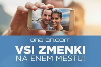 VROOOČE! Novost za vse samske v S-LOVE-niji: ONA-ON.COM med prvimi spoznavnimi servisi na svetu z inovativno mobilno aplikacijo!