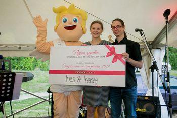 FOTO in VIDEO: Naslednje leto se s pomočjo ona-on.com sanjsko poročita Ines & Irenej!