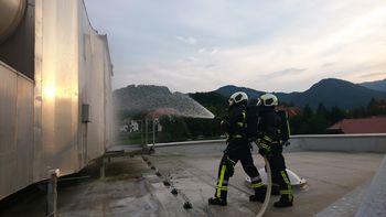 Gasilci nadaljujemo z usposabljanjem