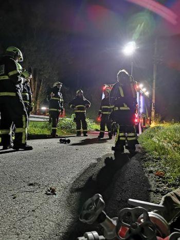 Operativna vaja PGD Vransko v mesecu požarne varnosti