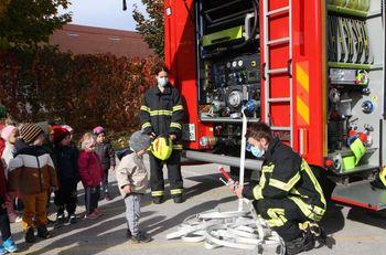Gasilci oktobra pri najmlajših v vrtcu Braslovče