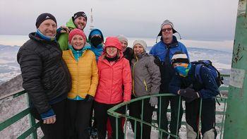 Loški planinci peš iz Poljčan na Boč in v Loče