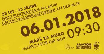 Marš za Muro, 6. januar 2018