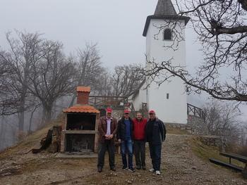 Predstavniki občin Blace iz Srbije in Vodnjan s Hrvaške na obisku v Preddvoru