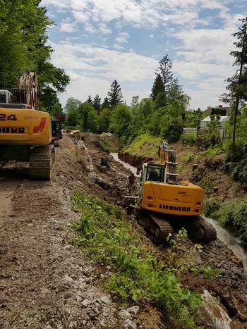 Ureditev brežine potoka Belice v Bašlju