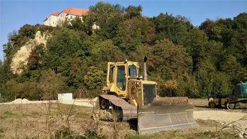 Začetek sanacije podora na gradu Borl