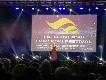 18. Slovenski frizerski festival v Ljubljani