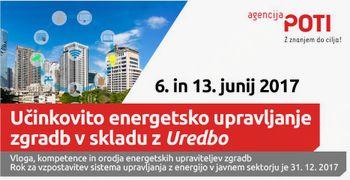 ŠE LETOS OBVEZNA vzpostavitev sistema upravljanja z energijo V VSEH JAVNIH STAVBAH!