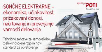 Učinkovitost in donosnost sončnih elektrarn