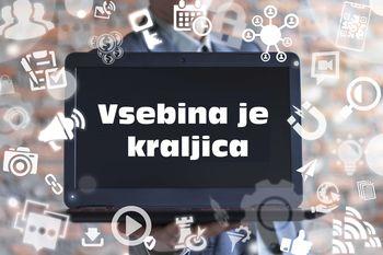 VSEBINA JE KRALJICA - pisanje in priprava vsebin za splet