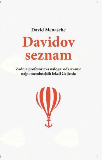 nova knjiga: DAVIDOV SEZNAM; David Menasche