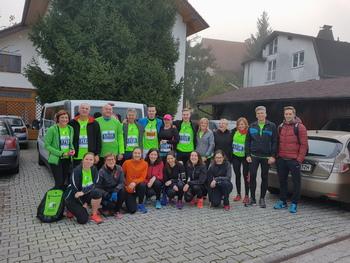 ZD Trebnje udeležen na Ljubljanskem maratonu
