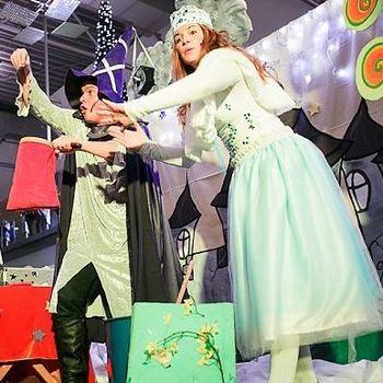 Čarobni prazniki in Snežna kraljica
