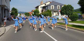Nastop Mažoretno - plesne skupine Vrtca Mavrica Trebnje