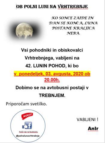 42. lunin pohod na Vrhtrebnje