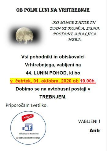 44. lunin pohod na Vrhtrebnje