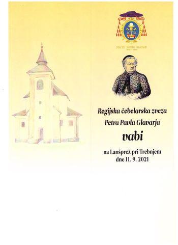 Svečana prireditev ob 300 letnici rojstva Petra Pavla Glavarja