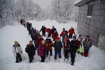 Planinski izlet na Komno, 19.1.2019