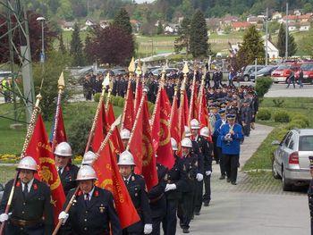 Regijska gasilska sveta maša v Vojniku