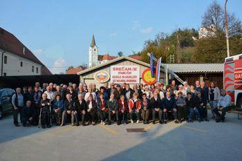 Srečanje starejših gasilcev – veteranov GZ Vojnik-Dobrna v PGD Vojnik