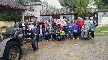»Neža«, društvo za pomoč osebam z okvaro vida, na ekskurziji po Primorski