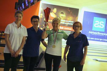 Laskavi naslov za Lidijo Zaletel in zagorski bowling!