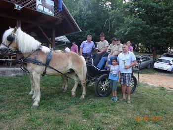 Konjeniška prireditev na Plešivici