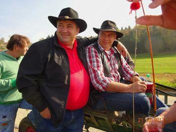 Pohod s konji in Cantry žur pr Dolenjc 21.10.017
