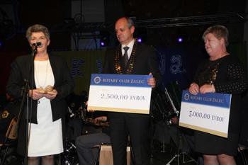 Dobrodelno in glasbeno zbrali 7.500 evrov
