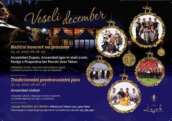 Božični koncert na prostem