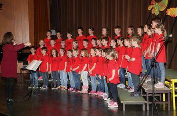 854 mladih pevcev pozdravilo pomlad, trije zbori iz Občine Vransko