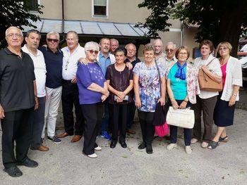 Srečanje sošolcev 57 let po zaključku osemletke na Vranskem