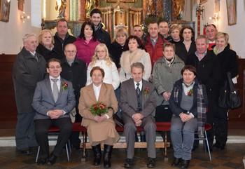 Zlata poroka družine Krajnc