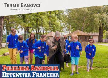 """Prometni dan """"Varne šolske poti"""" in Policijska akademija detektiva Frančeka"""