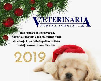 Veterinaria Murska Sobota želi srečno novo leto 2019