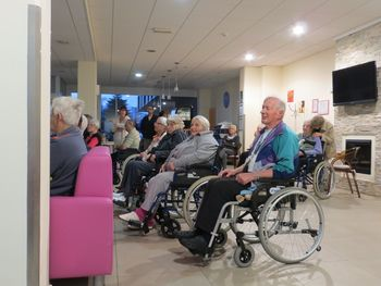 Druženje stanovalcev Doma starejših občanov Prebold in članov Sožitja Žalec
