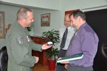 Z vodstvom vojašnice Jerneja Molana o civilno-vojaškem sodelovanju