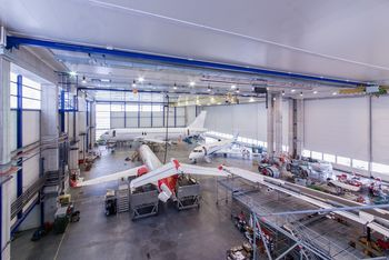 Adria Tehnika ob 5. obletnici zaključila pregled in vzdrževanje že 1000. letala