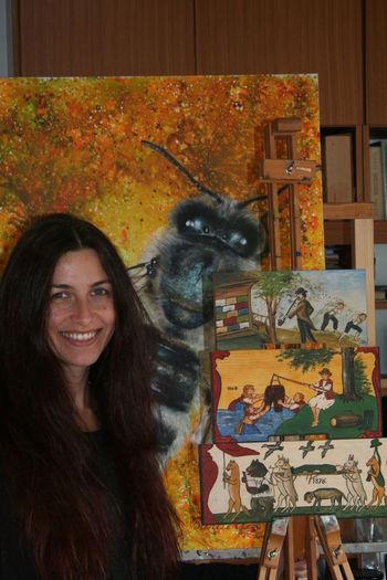 Poslikane panjske končnice - primerna pobuda za vpis v Register žive kulturne dediščine