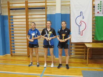 Katarina Stražar zmagala 2. TOP za kadetinje