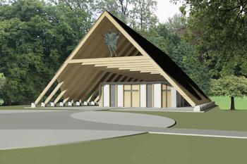 Projekt obnova poslovilne vežice Brdo