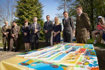 Predsednik Slovenije obiskal Čebelarski center na Brdu