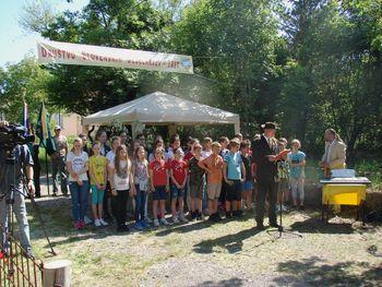 Otvoritev slovenskega čebelnjaka v Trstu