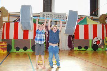 »Cirkus« na zaključku vrtca Čebelica v Gabrobki